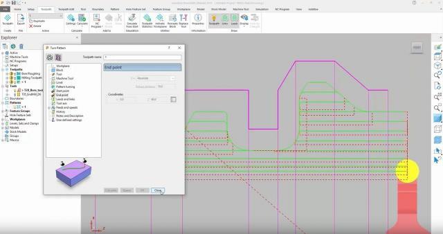 Neue Strategie `Rasterdrehen´ in Autodesk PowerMill 2019.1