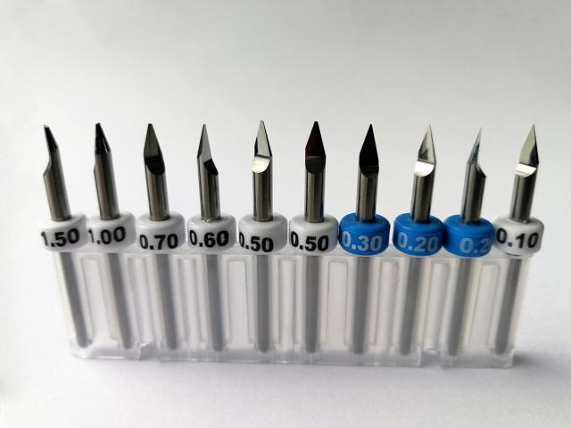 Carbide engraving tools and additional accessories