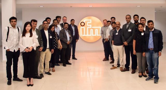 Delegation of 20 Indian managers visited ifm