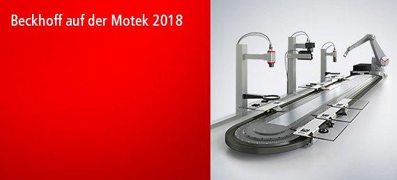 Beckhoff auf der Motek 2018