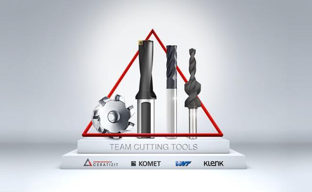 Vier Experten, ein starkes Team - Das neue Team Cutting Tools der CERATIZIT-Gruppe!