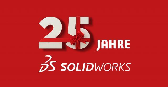 25 Jahre SOLIDWORKS. 25 Jahre Innovation.
