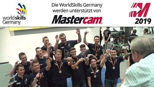 WorldSkills Germany: Auch in diesem Jahr fördert Mastercam Talente