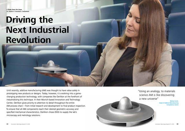 Die nächste industrielle Revolution vorantreiben