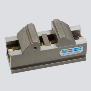Mechanical self-centering clamping vise MZR