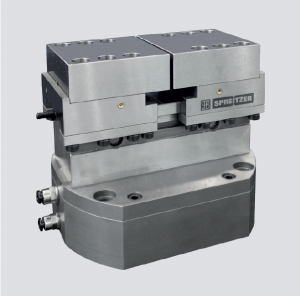Pneumatic self-centering clamping vise PZS