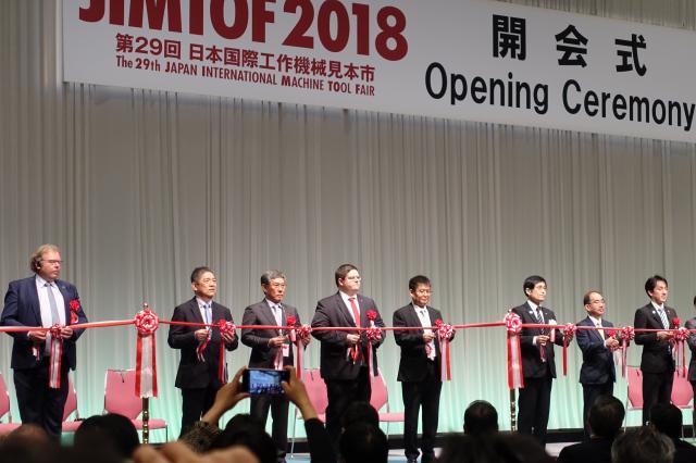 JIMTOF 2018 eröffnet mit großem Besucherandrang