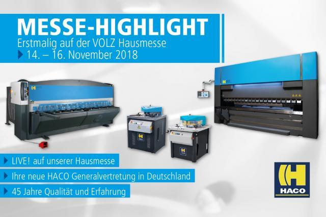 VOLZ Hausmesse Highlight - HACO