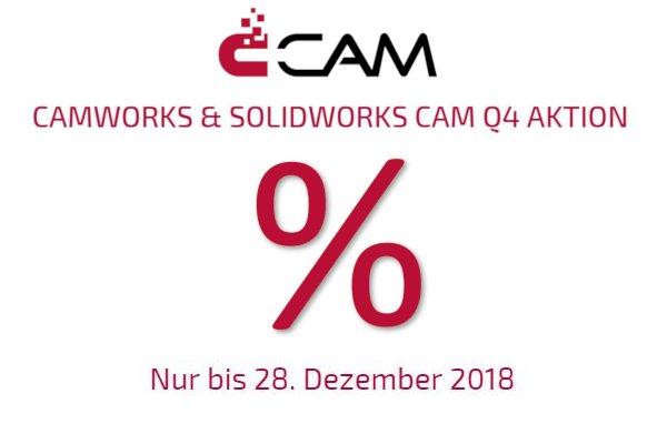 CAMWORKS & SOLIDWORKS CAM Q4 Aktion