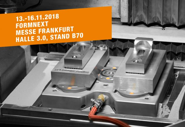 AMF auf der Messe FORMNEXT, Frankfurt a.M. 13.-16.11.2018