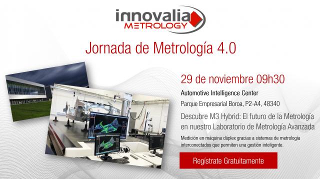 Innovalia Metrology presenta M3 Hybrid en su Laboratorio de Metrologia avanzada