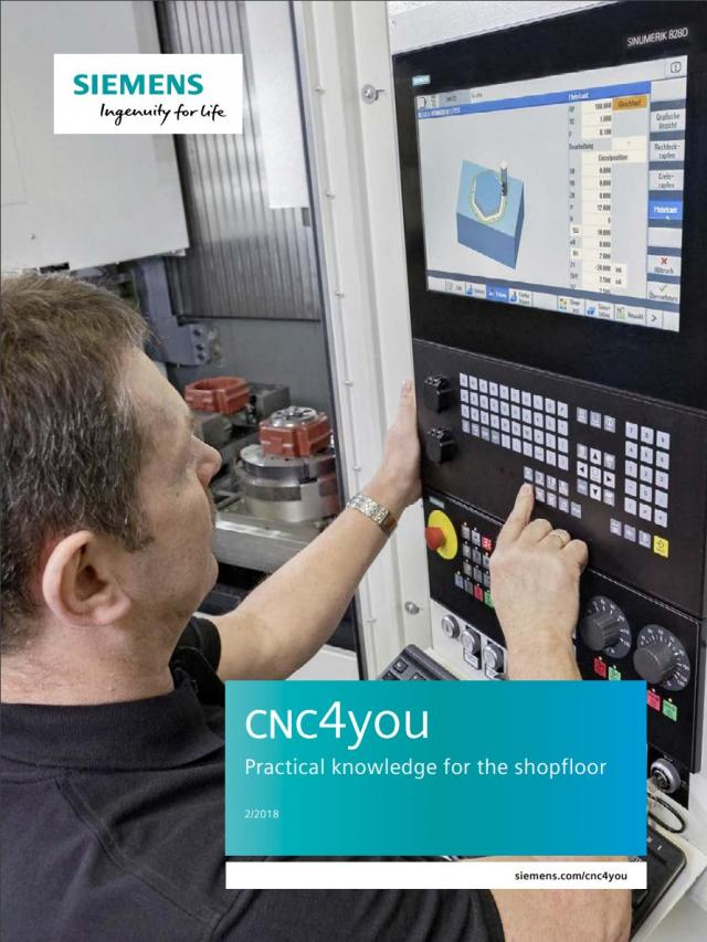 CNC4you 2/2018 – Practical knowledge for the shopfloor