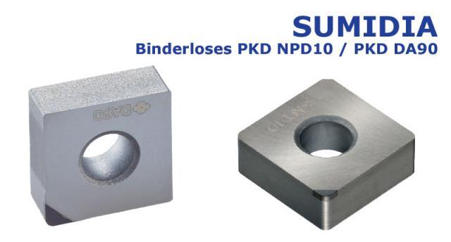 Binderlose PKD-Sorte NPD10 für harte, spröde Materialien