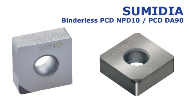 New PCD grade NPD10 for turning of hard brittle materials