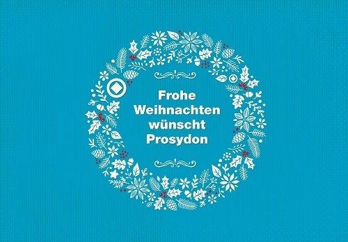 Frohe Weihnachten wünscht Prosydon!