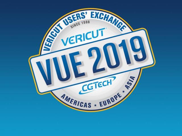 VERICUT Users Exchange 2019