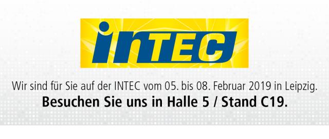 INTEC 2019 – VOLMATEC ist dabei!