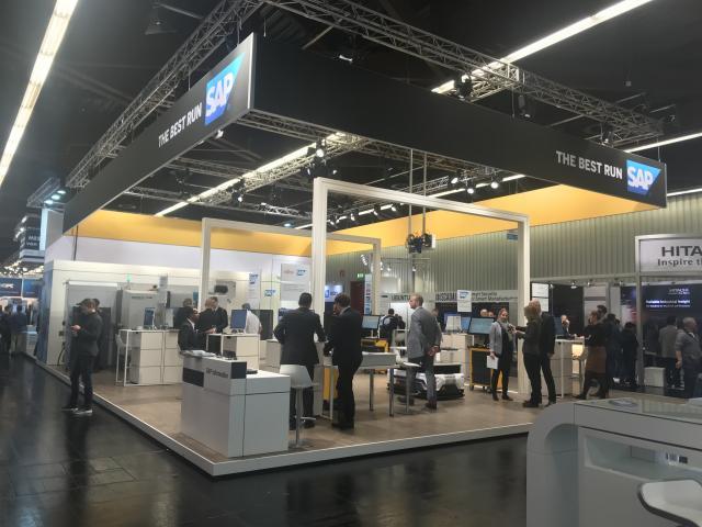 INDEX zusammen mit SAP auf der SPS Drives