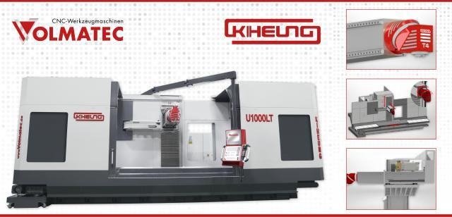 Universal-CNC-Bettfräsmaschinen – KIHEUNG KNC - LT Serie