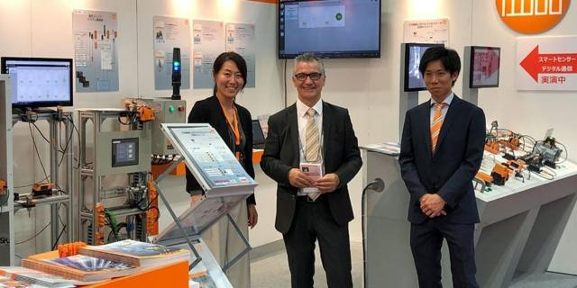 """""""Kaizen activity"""": enthusiasm for ifm Condition Monitoring solutions at JIMTOF fair 2018"""