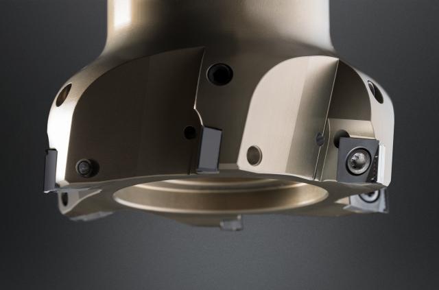 Leichtbau-Planfräser für HSC-Bearbeitung von Aluminium