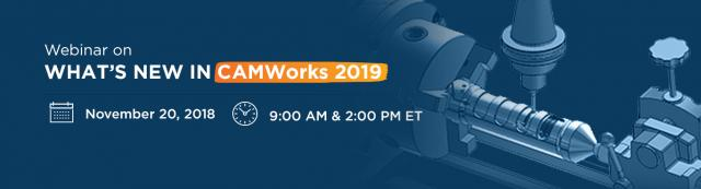 Video: Webinar What's New in CAMWorks 2019