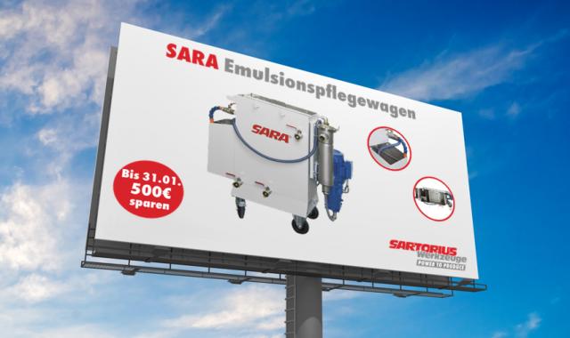 SARA Emulsionspflege-Wagen EPW550