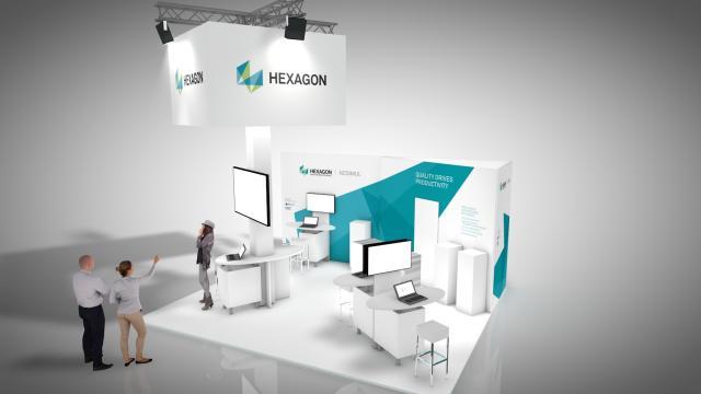 INTEC 2019: Erleben Sie NCSIMUL neu - im Hexagon Standdesign!
