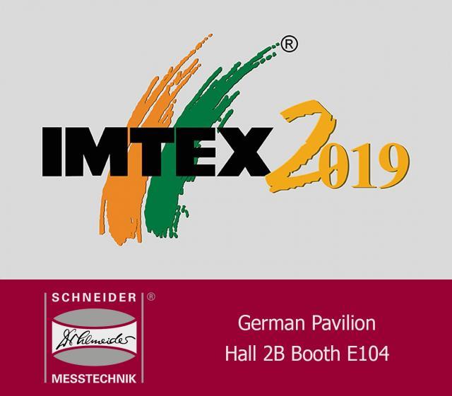 Messestart mit der IMTEX, Bangalore