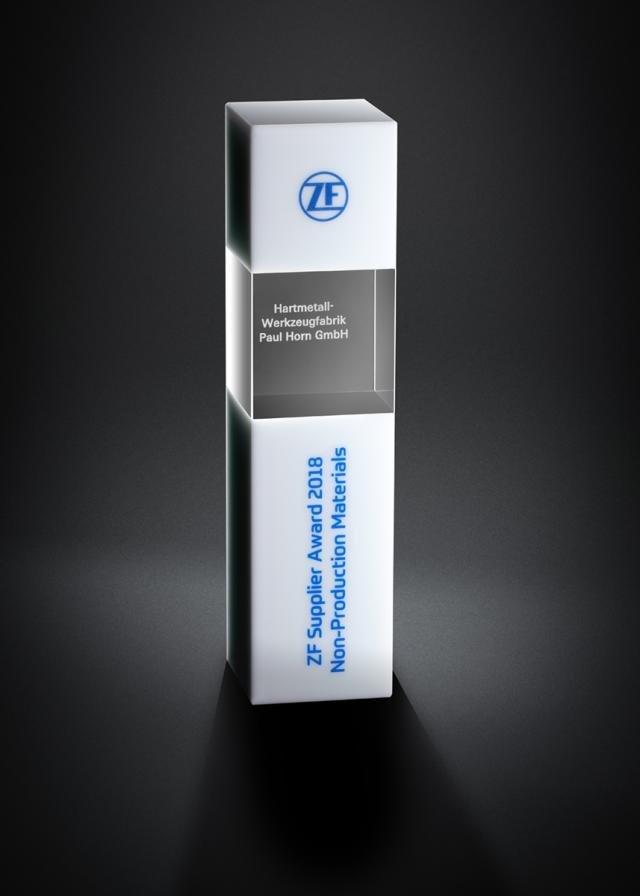 Horn erhält ZF Supplier Award 2018