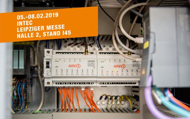 AMF auf der intec, Leipziger Messe, 05.-08.02.2019