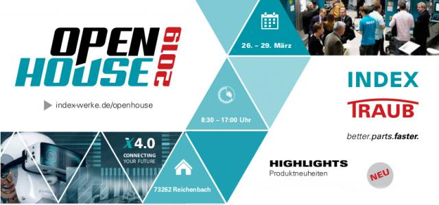 Einladung INDEX Open House 2019