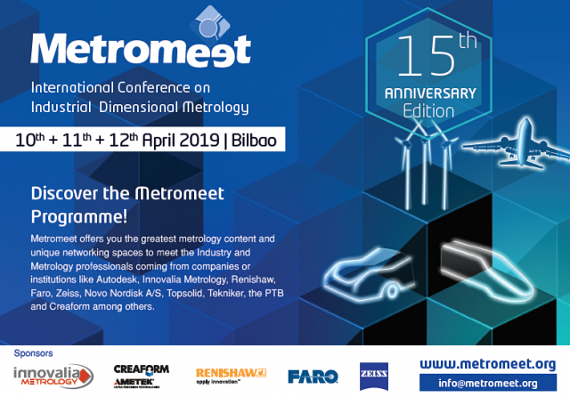 """Metrology for zero-defect manufacturing"" at Metromeet"