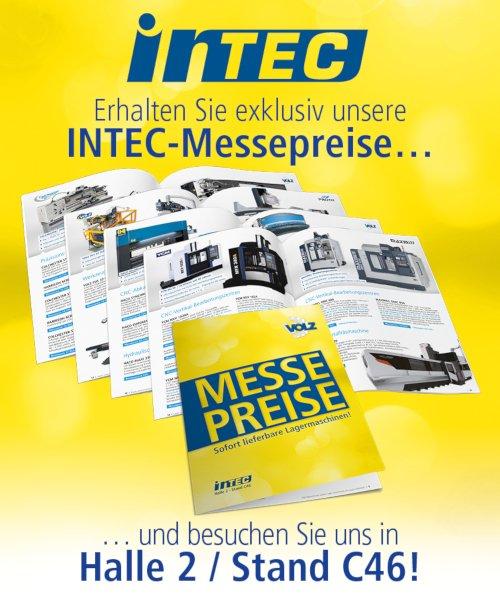 INTEC 2019 - jetzt Messeangebote sichern!