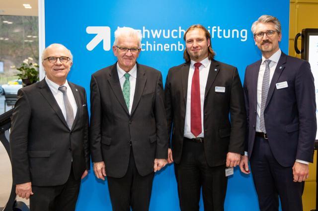 Nachwuchsstiftung Maschinenbau eröffnet Standort Süd in Tübingen