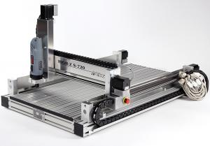 High-Z S-720 portal milling machine / 720x420x110mm WINDOWS LINUX kompartibel