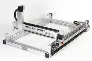 High-Z S-1000/T CNC Router / CNC Engraver 1000 x 600 x 110 mm / Ball Screws / Linux / Windows