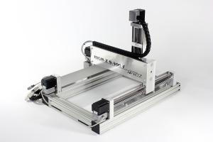 CNC Router High-Z S-400/T:  XYZ Table 400 x 300 x 110 mm / Ball Screws WIN, Linux