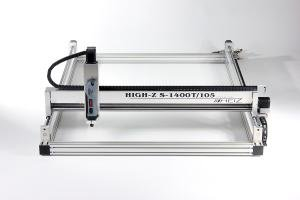 High-Z S-1400/T-105: CNC Router / CNC Machine 1400 x 1100 x 110 mm / Ball Screws / Linux, Windows