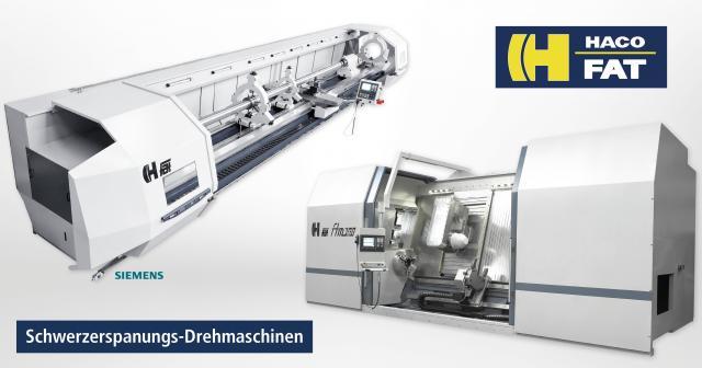 VOLZ News – FAT/HACO Schwerzerspanungs-Drehmaschinen