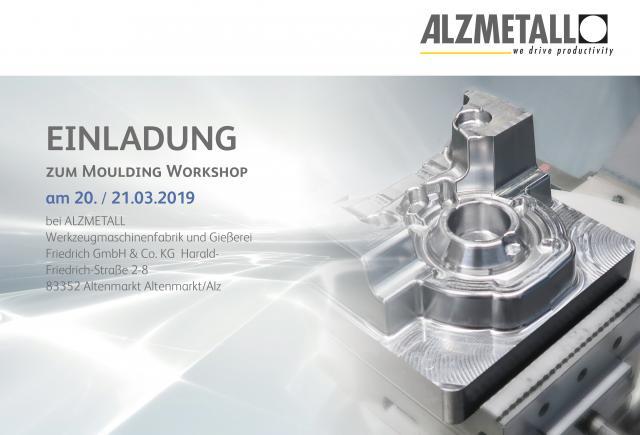 Einladung zum 3D Form Inspect Workshop bei Alzmetall