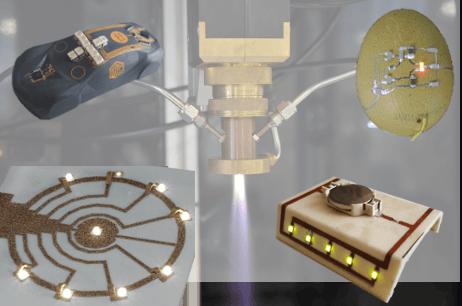 Was gibt's Neues - Mechatronische Funktionalisierung durch 3D-Druckverfahren