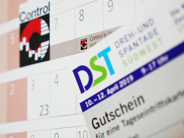 Trade fair tickets for DST and Control available now