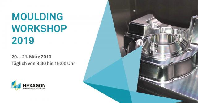 Moulding Workshop am 20. und 21. März bei Alzmetall