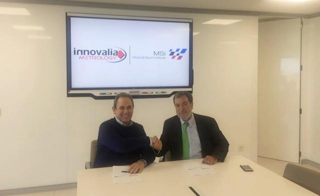 MSI and Innovalia Metrology become technological partners to improve the quality of the racing cars