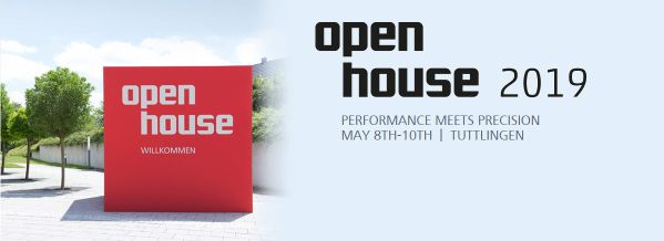 Invitation OPEN HOUSE 209 I Performance meets Precision
