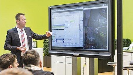 Technologietag bei Haas: Unterstützung vor Ort