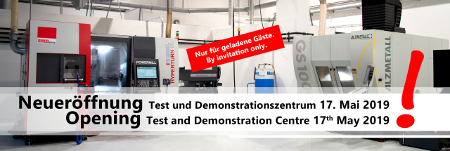 Our Test and Demonstration Centre will be officially opened