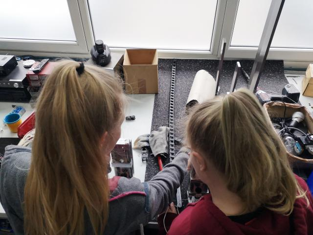 Girls' Day 2019 at CNC-STEP in Geldern