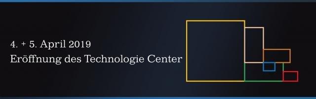 Eröffnung Technologie Center Hamburg am 4. und 5. April 2019